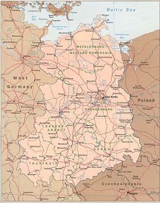Groot Kaart Duitsland Op De Wereld Kaart