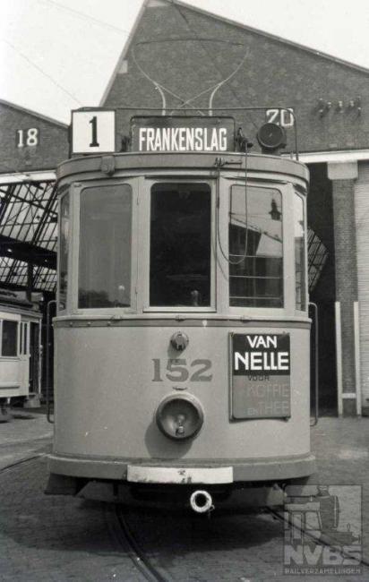 Lijn 1, remise Scheveningen.
