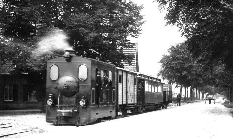 06 MBS serie 40-45, Drie Kronen (Milsbeek), ongeveer 1913. (verz. NVBS)