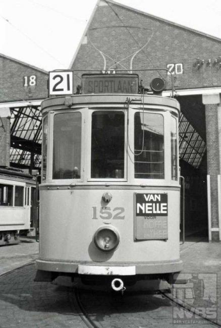 Dit was het hoogste lijnnummer dat tot 1941 heeft bestaan. Deze lijn verbond de Vogelwijk met het station Staatsspoor. In 1937 werd de lijn vernummerd in 2, een lijn die zoals we hebben gezien, ook geen lang leven was beschoren. Remise Scheveningen.
