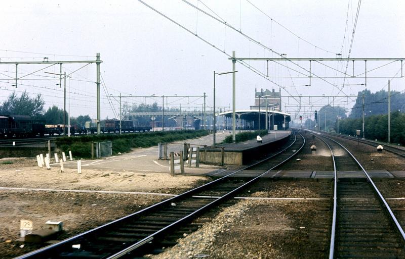 Op weg van Tilburg naar Utrecht wordt Geldermalsen gepasseerd.