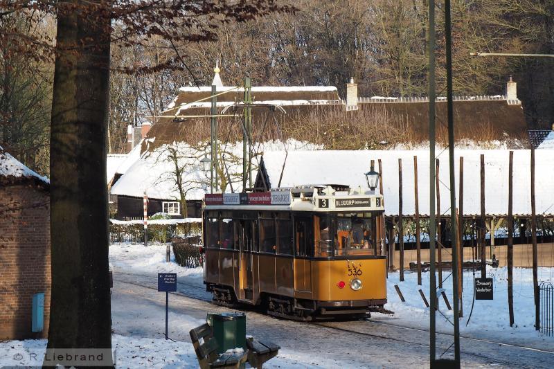 RET 536, 29 december 2014De 536 bij het Brouwhuis uit Ulvenhout.