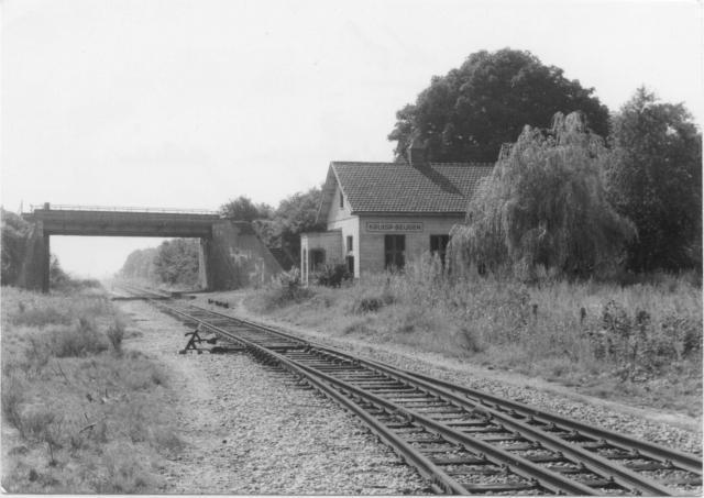 Kruispunt Beugen gezien vanuit de richting Gennep.Foto: foto 5174.885 AE Periode: 29 juli 1970