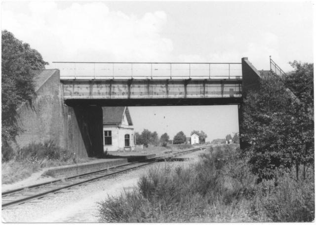 Kruispunt Beugen vanuit de richting Boxtel.Foto: foto 5174.883 AE Periode: 29 juli 1970