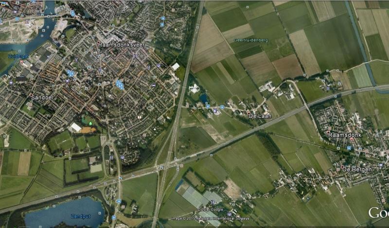 De halve-zolenlijn tussen Raamsdonk en Raamsdonksveer