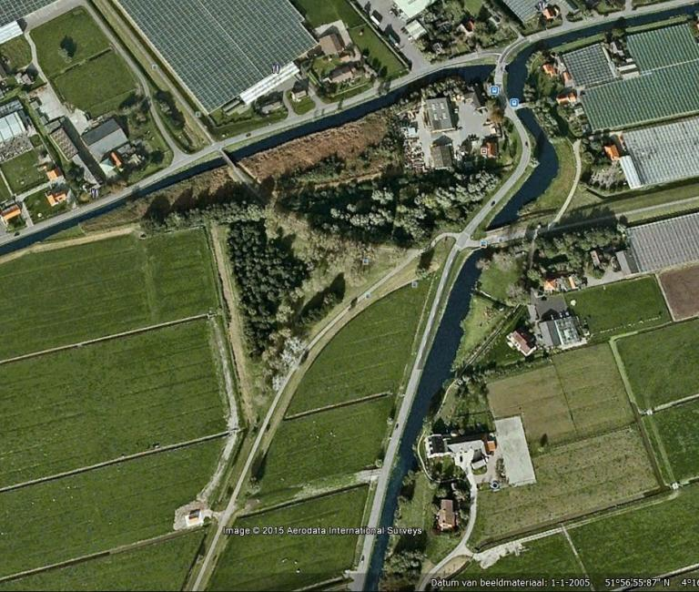 Sporendriehoek bij Maasland (WSM)