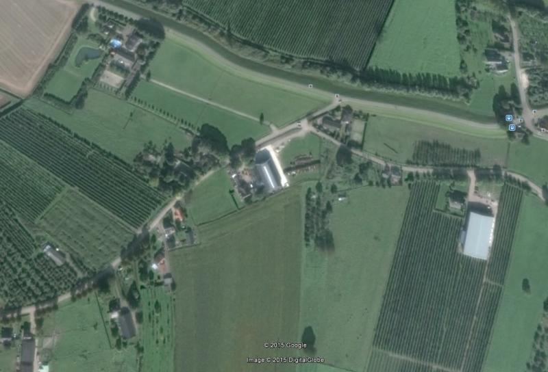 Beusichem aan de lijn van de maatschappij Tiel-Buren-Culemborg, die in 1918 werd opgeheven.