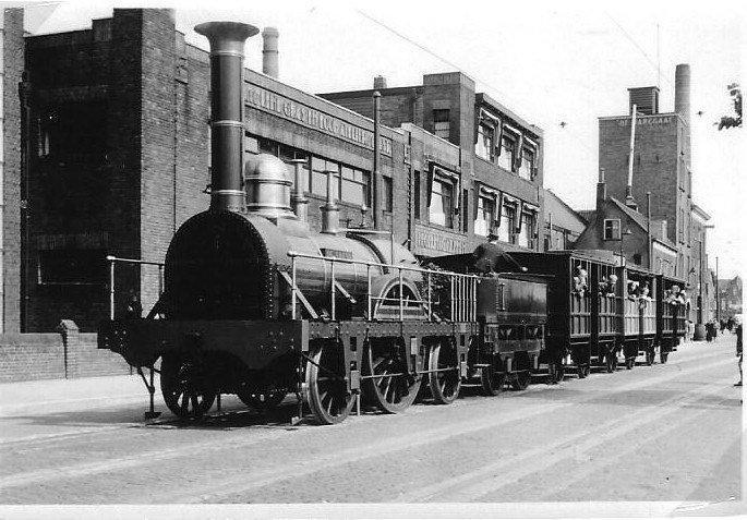 locomotief De Arend.