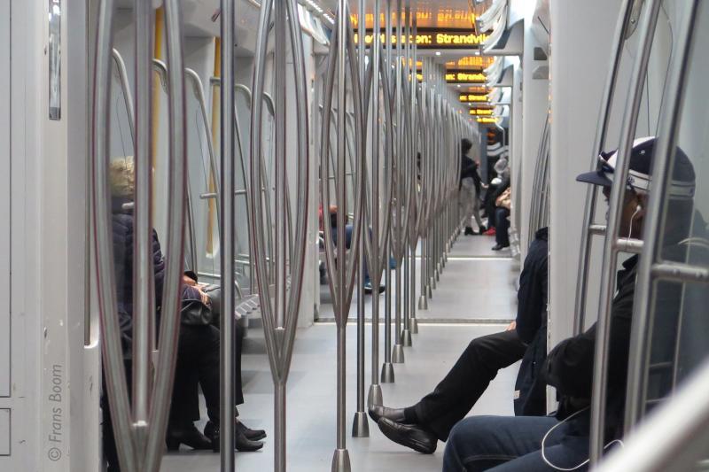 GVB-metrolijn 50, Amsterdam 8 oktober 2016