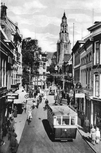 trolleybusje in de A-straat