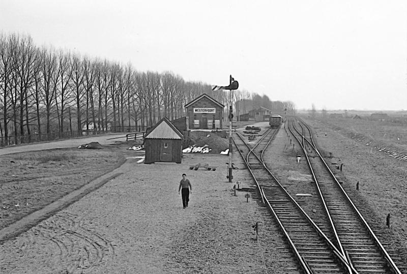 Dit is het emplacement van Westervoort rond 1955.