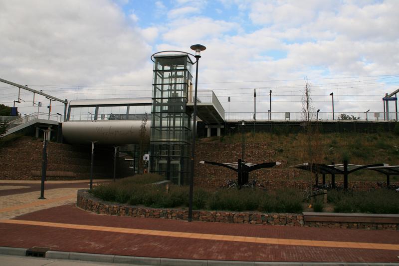 Het derde station van Westervoort.