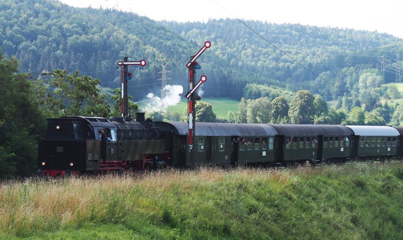 Klassieke beveiliging bij Epfenhofen.