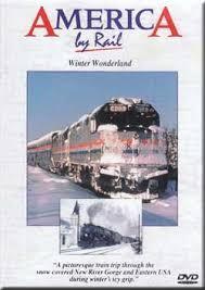 America by Rail winter wonderland