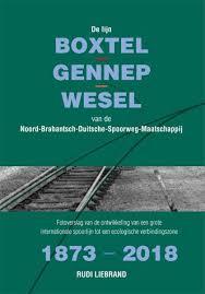 De lijn Boxtel - Gennep - Wesel van de NBDS 1873 - 2018