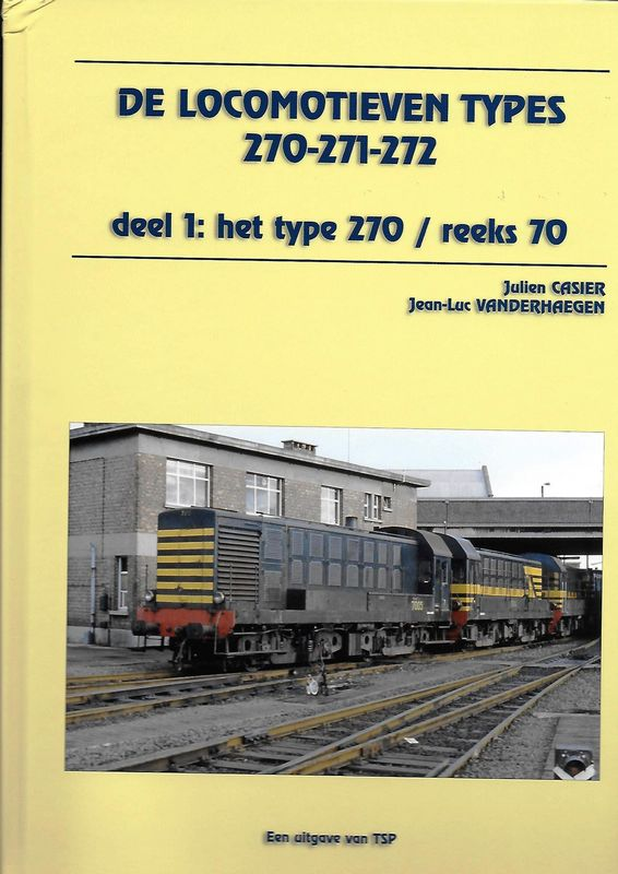 De locomotieven Type 270-271-272
