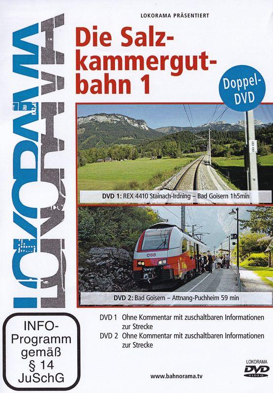 Die Salzkammergutbahn 2 DVD's