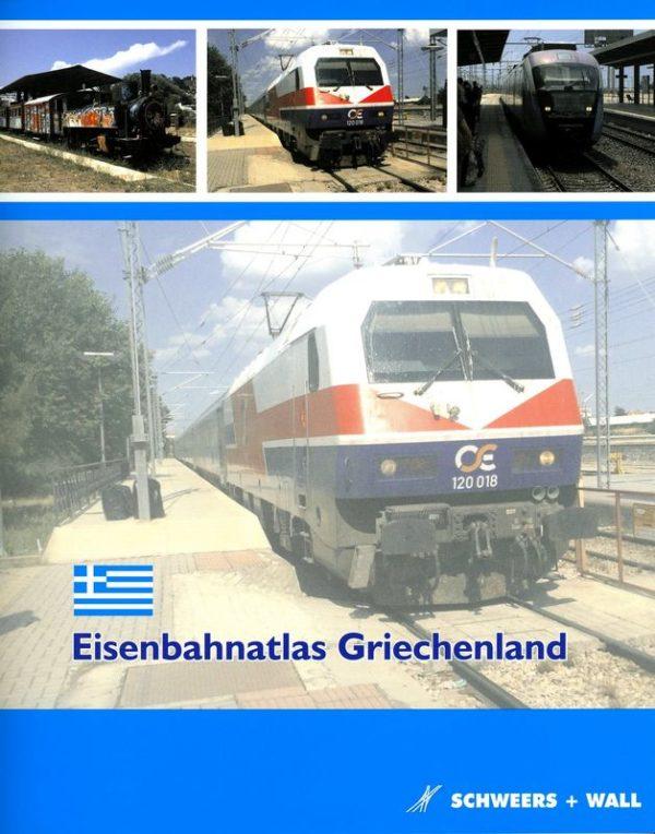 Eisenbahn atlas Griechenland