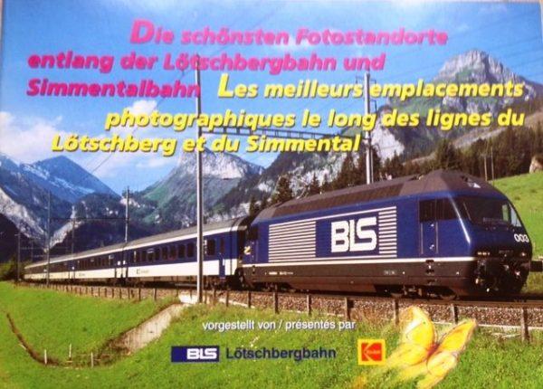 Fotostanden entlang der Lotschenbergbahn