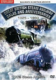 GB steam railway Galas 1925-1980