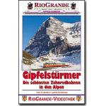 Gipfelstürmer Zahnradbahnene in den Alpen