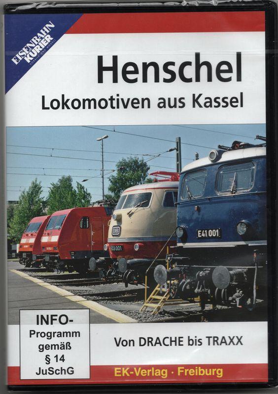 Henschel Lokomotiven aus Kassel - Von Drache bis TRAXX