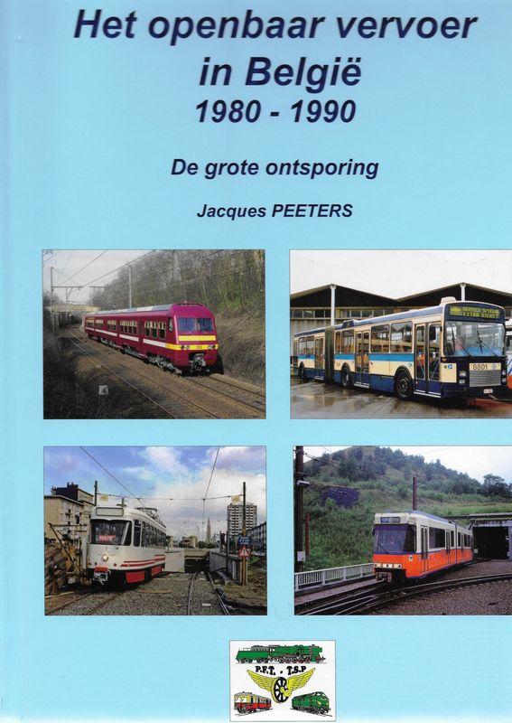 Het openbaar vervoer in België 1980-1990