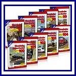 Jubileumpakket Eisenbahn Kurier 3 ( 9 DVD's)