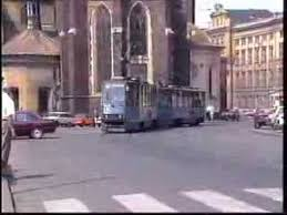 Krakow Poland Trams July 1992