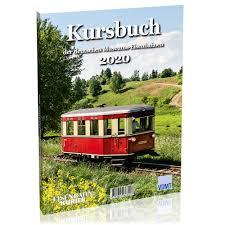 Kursbuch der deutschen Museum-Eisenbahnen 2020
