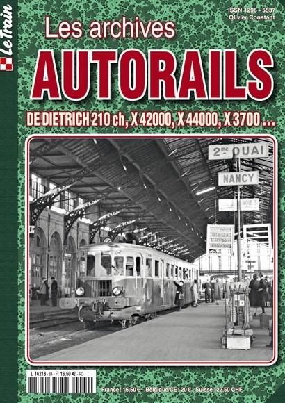 Les Archives Autorails - Tome 4 : De Dietrich