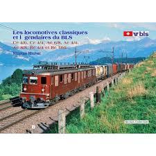 Les locomotives classiques et légendaires du BLS