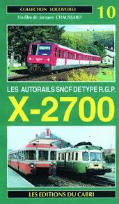 Locovidéo No 10; RGP X-2700