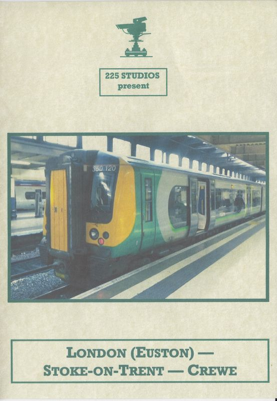 London Euston – Stoke on Trent - Crewe