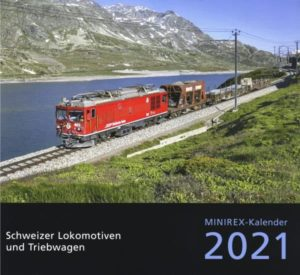 Minirex-kalender 2021