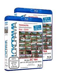 Mit dem EC 164 von Graz nach Zürich, Teil 1 und 2, 6 dvd's +