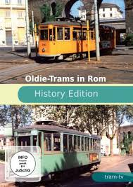 Oldie-Trams in Rom