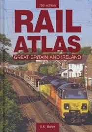 Rail Atlas Great Britain 15th Edition