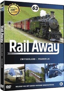 Rail Away 63 Zwitserland, Frankrijk