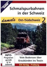Schmalspurbahnen in der Schweiz damals 2
