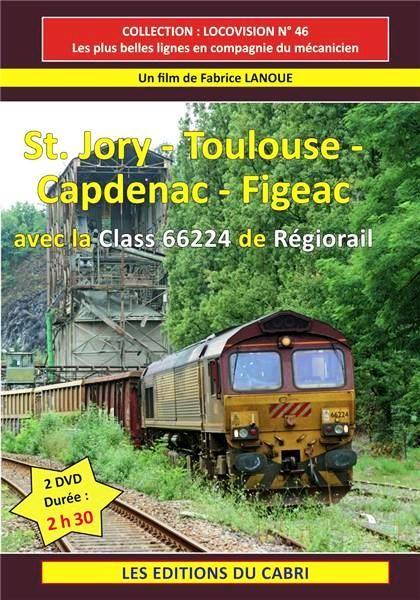 St Jory-Toulouse-Figeac