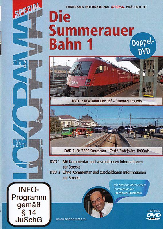 Summerauerbahn 1 2 DVD's heenreis