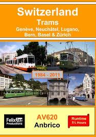 Switzerland Trams 4 DVD set