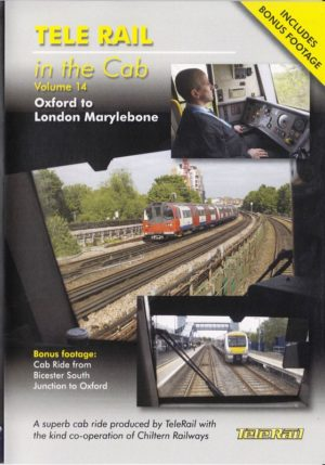 Telerail in the cab 14 Oxford to Marylebone
