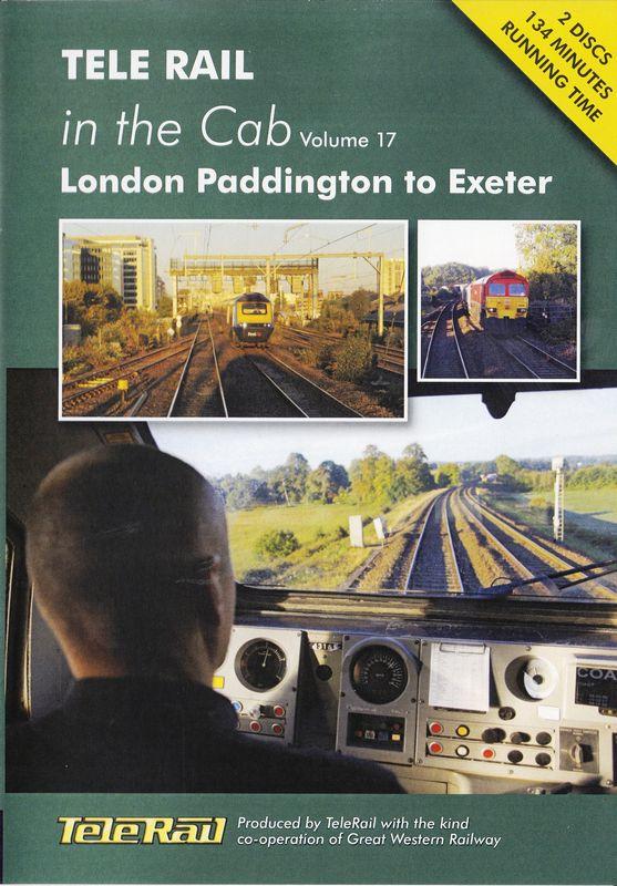 Telerail in the cab 17 London Paddington to Exeter