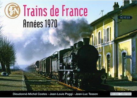 Train de France années 1970