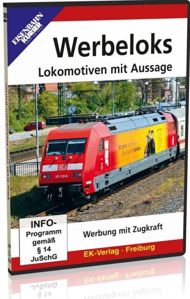 Werbeloks - Lokomotiven mit Aussage
