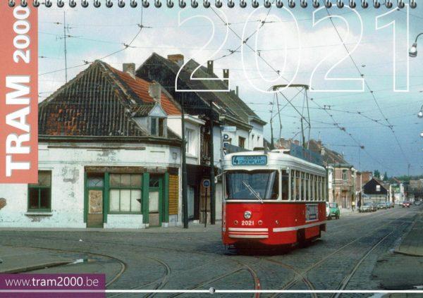 kalender 2021 tram 2000