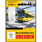 mt der Strassenbahn Dresden; Linie 1