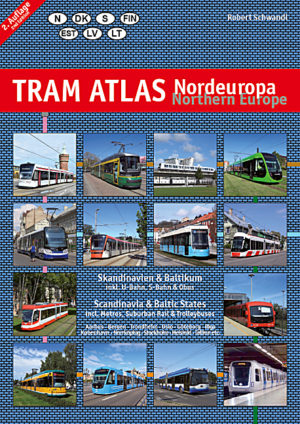 Tram Atlas Nordeuropa (2.Auflage) - Skandinavien & Baltikum